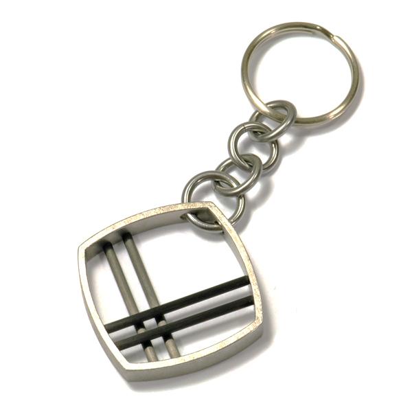 Schlüsselanhänger Stahl Carbon (250174)